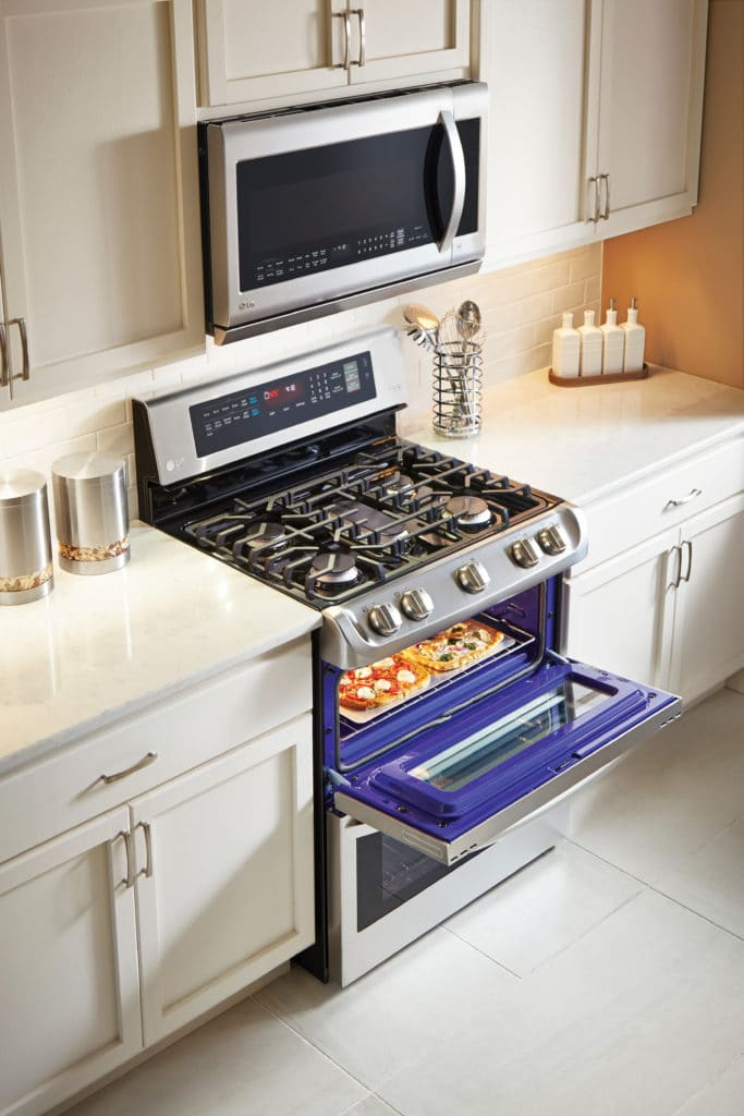 Prep for the Holidays LG ProBake Double Oven
