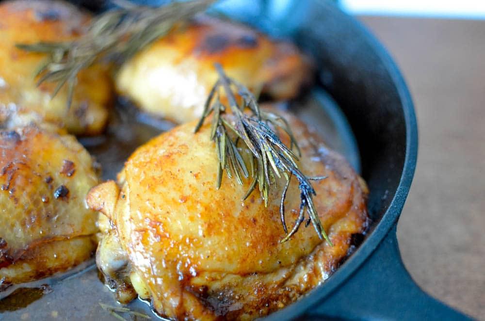 balsamic glazed chicken thighs recipe