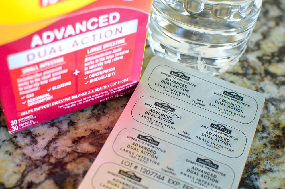 Nature Made® Advanced Dual Action Probiotic