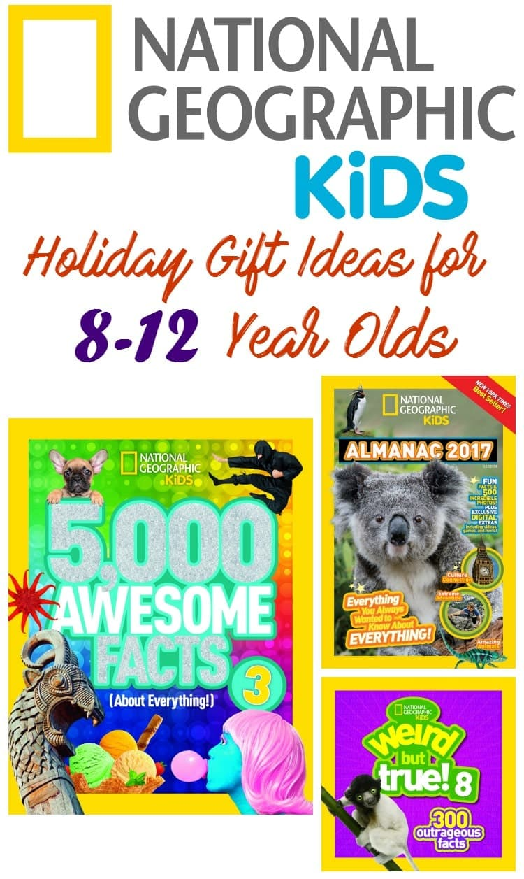 holiday gift ideas for 8-12 year olds