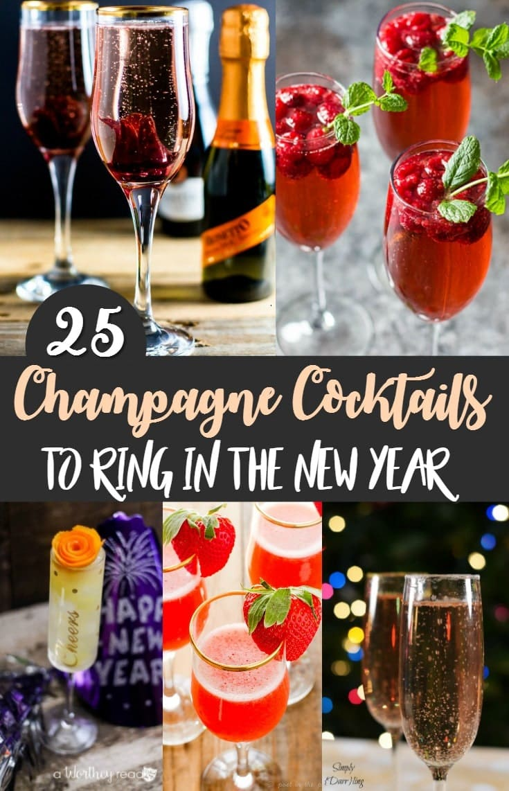 25 Champagne Cocktails to Ring in the New Year