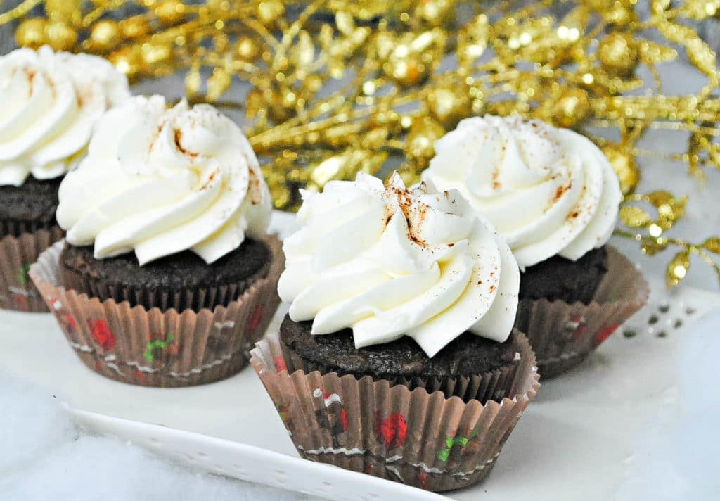 chocolate eggnog cupcakes recipes
