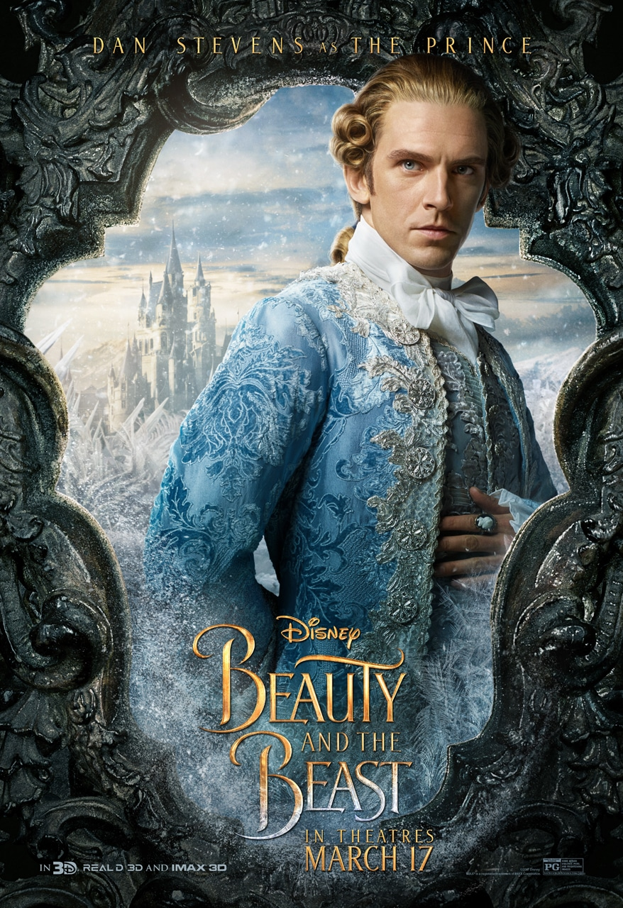 Beauty and the Beast Character Posters dan stevens the prince