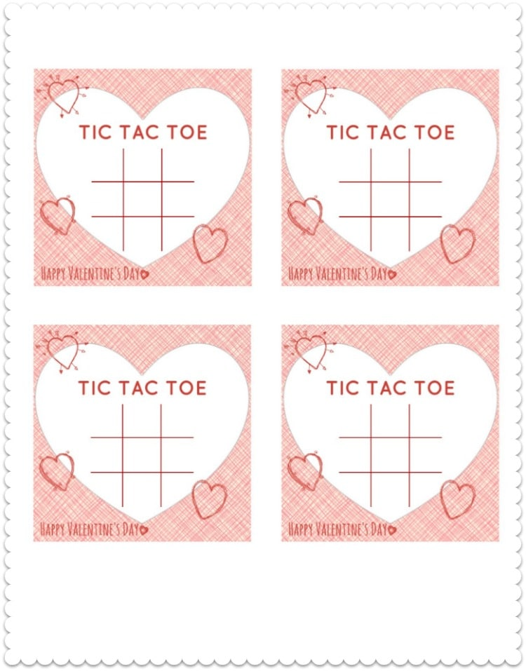 Tic Tac Toe Template  How To Sew A Simple Tic Tac Toe Game With