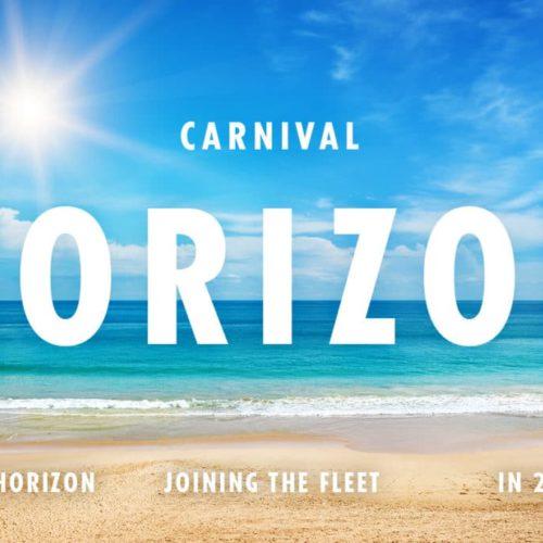 carnival horizon itineraries