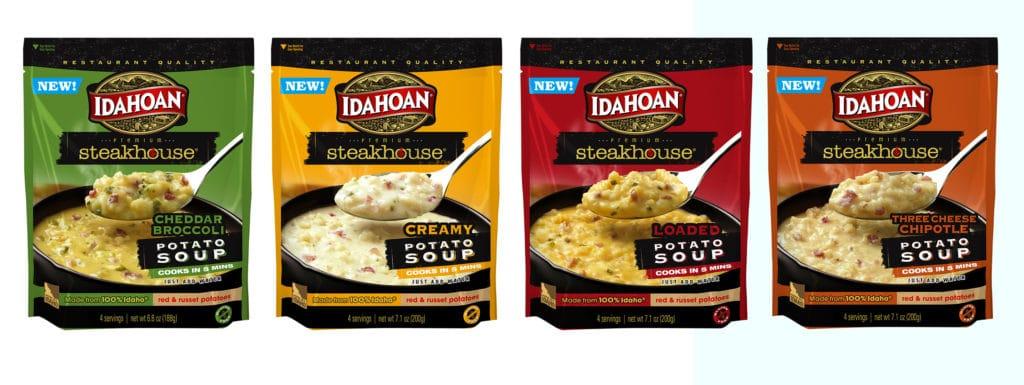 Idahoan Premium Steakhouse Potato Soups