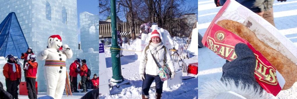 quebec city winter wonderland