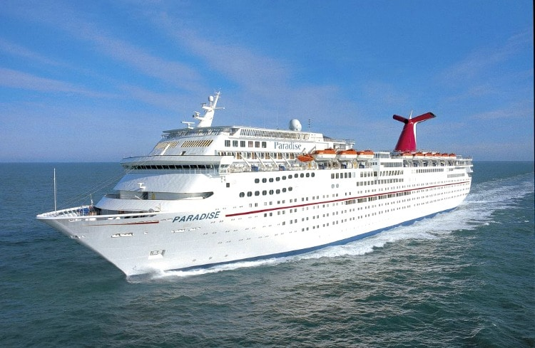 Carnival Paradise Cruises From Tampa To Cuba