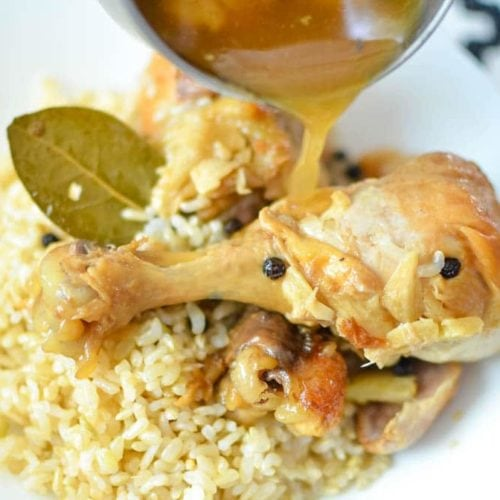 Instant Pot Filipino Chicken Adobo Recipe