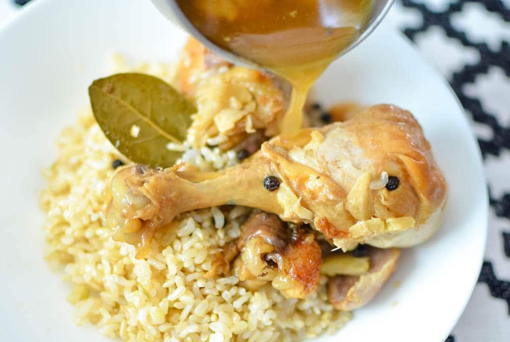 Instant Pot Filipino Chicken Adobo Recipe