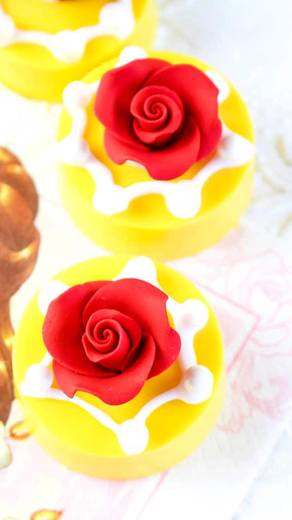 Beauty and the Beast Chocolate Covered Oreos Recipe