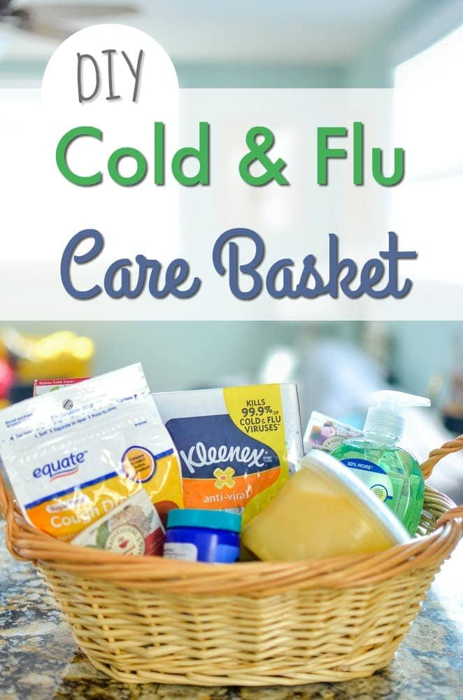 DIY Cold & Flu Care Basket