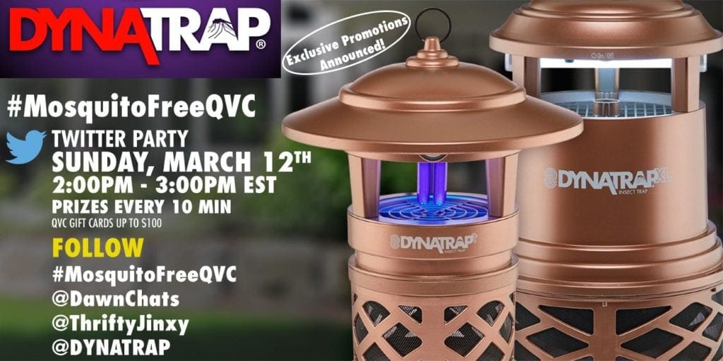 #MosquitoFreeQVC dynatrap twitter party
