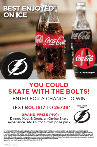 win an exclusive on-ice skate experience with the Tampa Bay Lightning!?