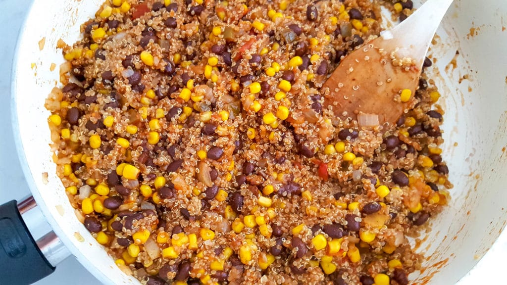 Mexican Quinoa Stuffed Peppers Recipe