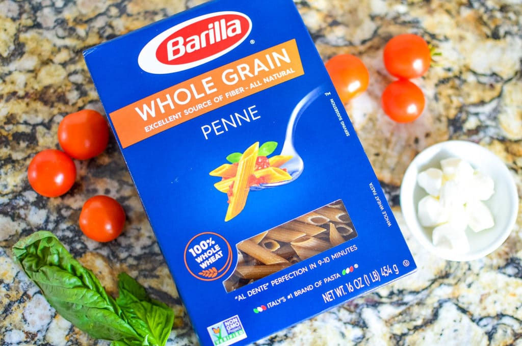 barilla whole grain pasta penne