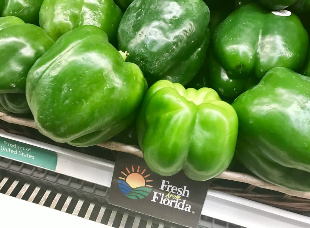 fresh from florida label
