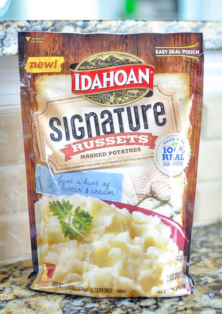Idahoan Signature Russets Mashed Potatoes