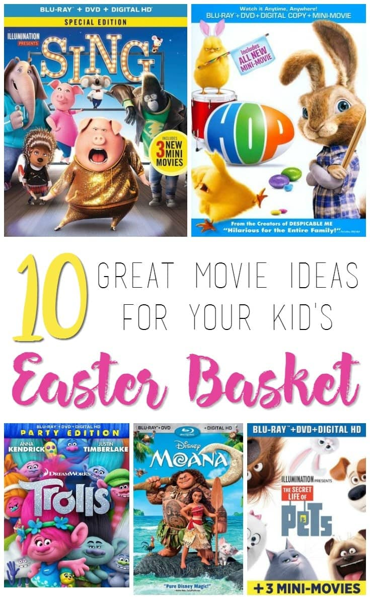 10 great movie ideas for your kids easter basket negle Gallery