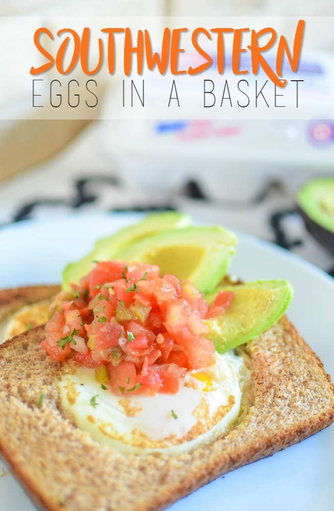 Southwestern Eggs In A Basket Recipe