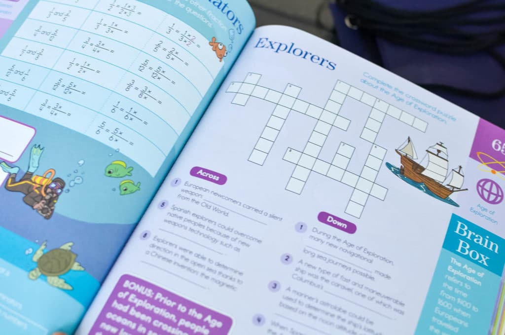 summer brain quest book learning