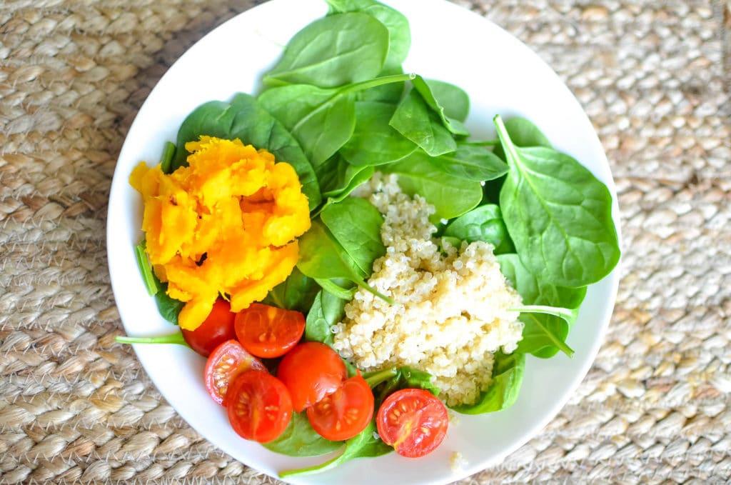 buddha bowl veggies