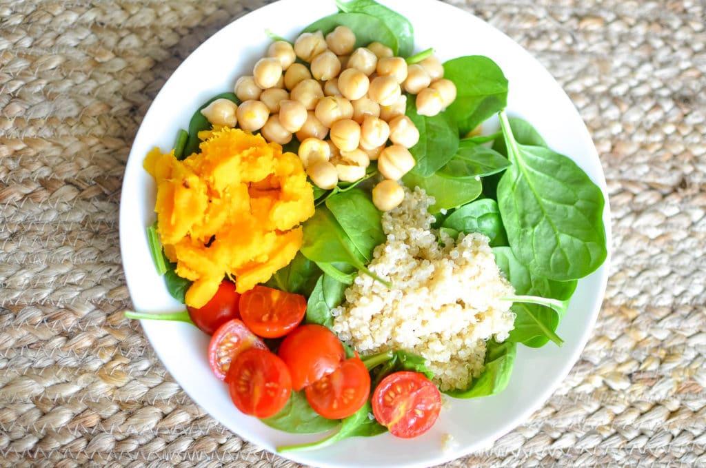 buddha bowl protein