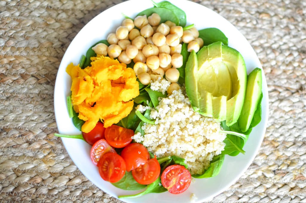 buddha bowl healthy fats
