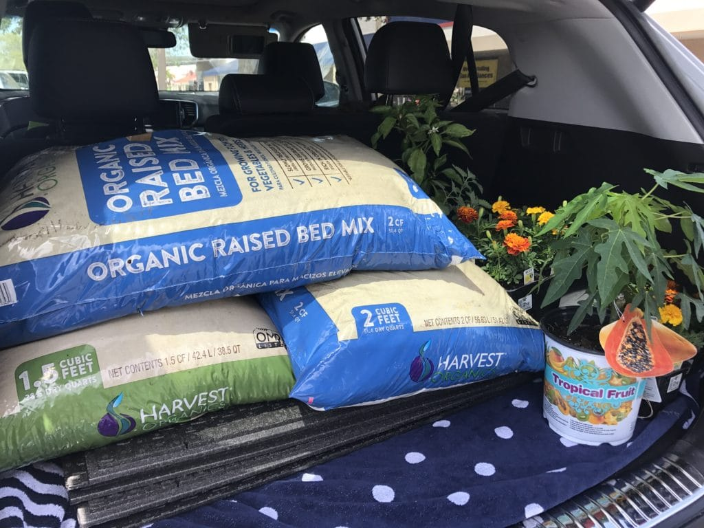 harvest organics raised garden bed mix