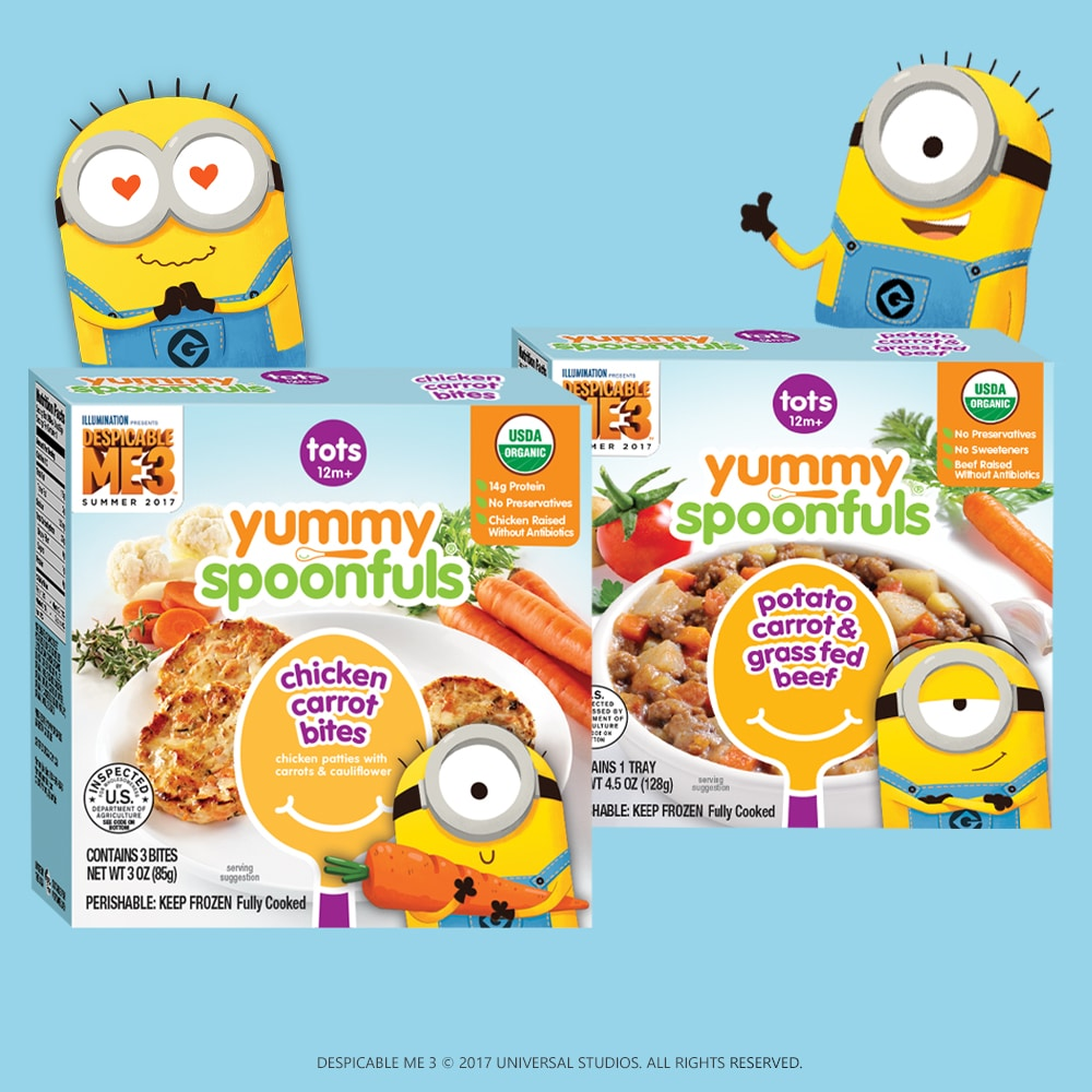 Despicable Me 3 yummy spoonfuls