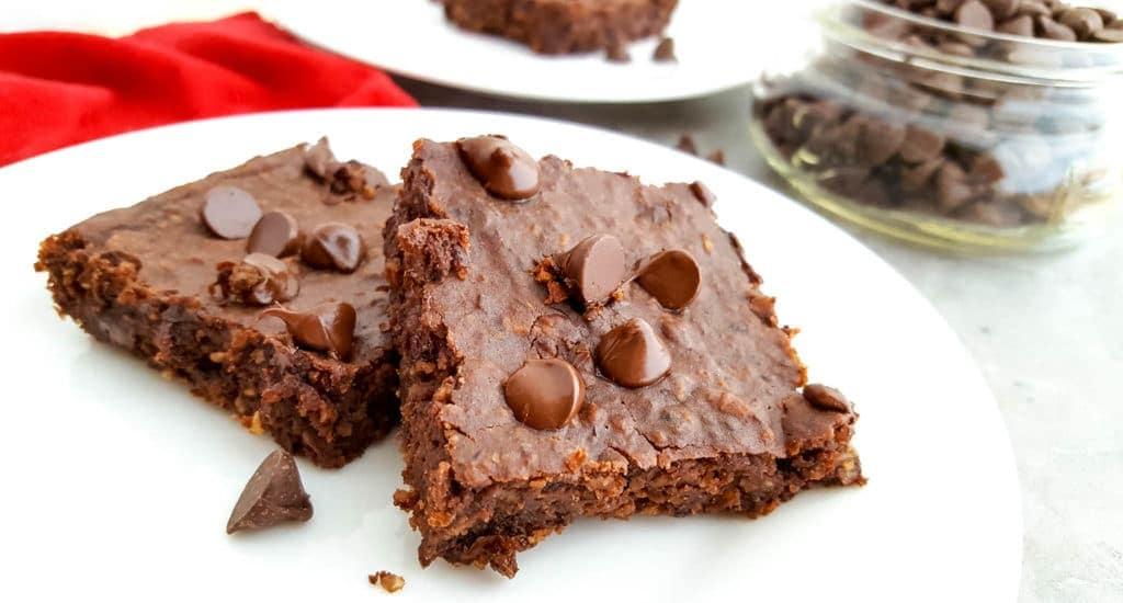 vegan chocolate black bean brownies recipe