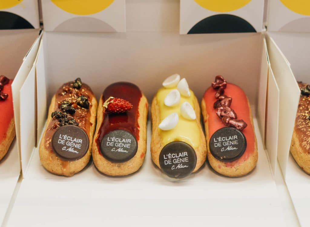 eclairs in paris