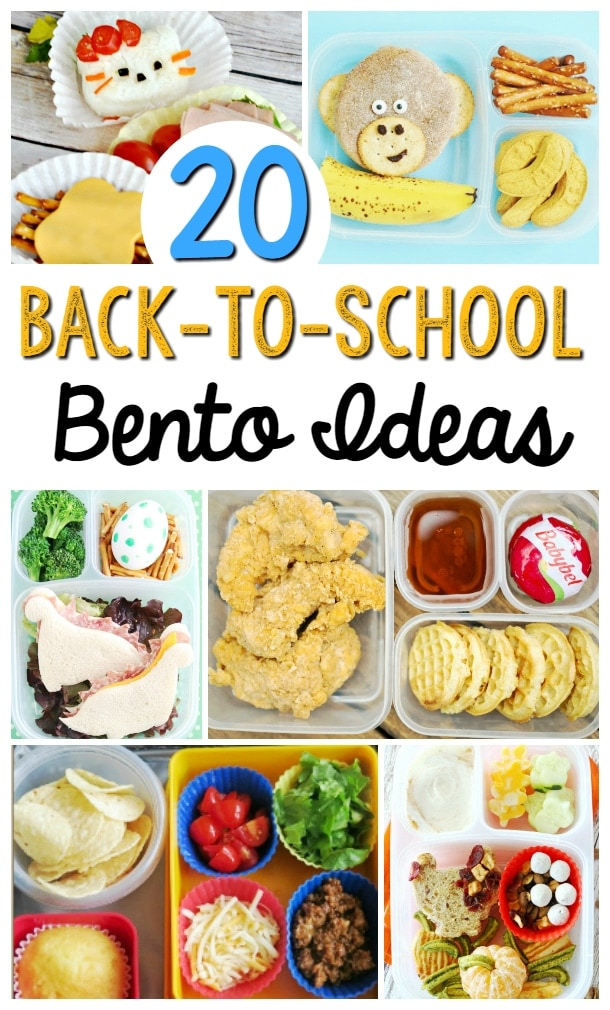 Back to School bento box ideas for kids