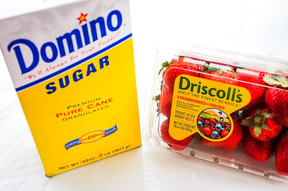 strawberry fruit leather ingredients