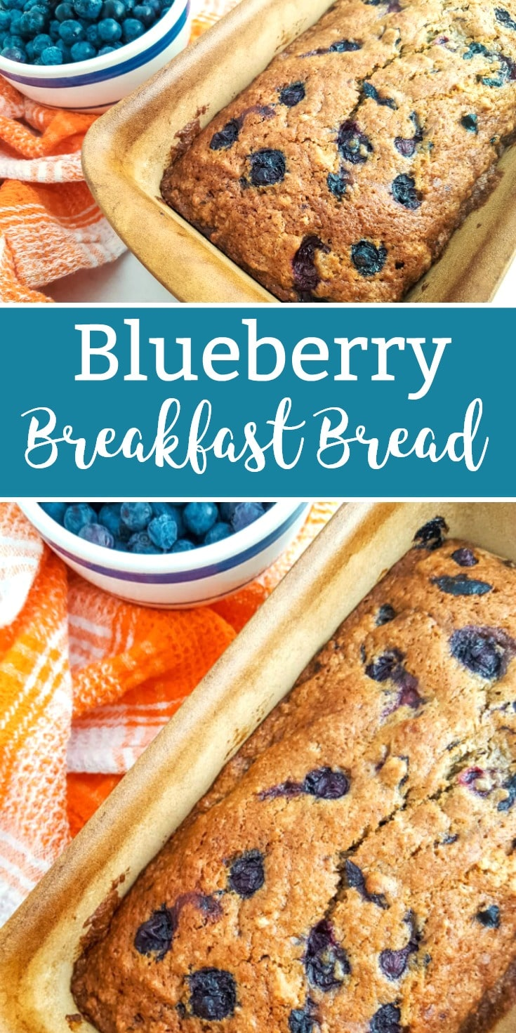 blueberry breakfast bread blueberry bread recipe
