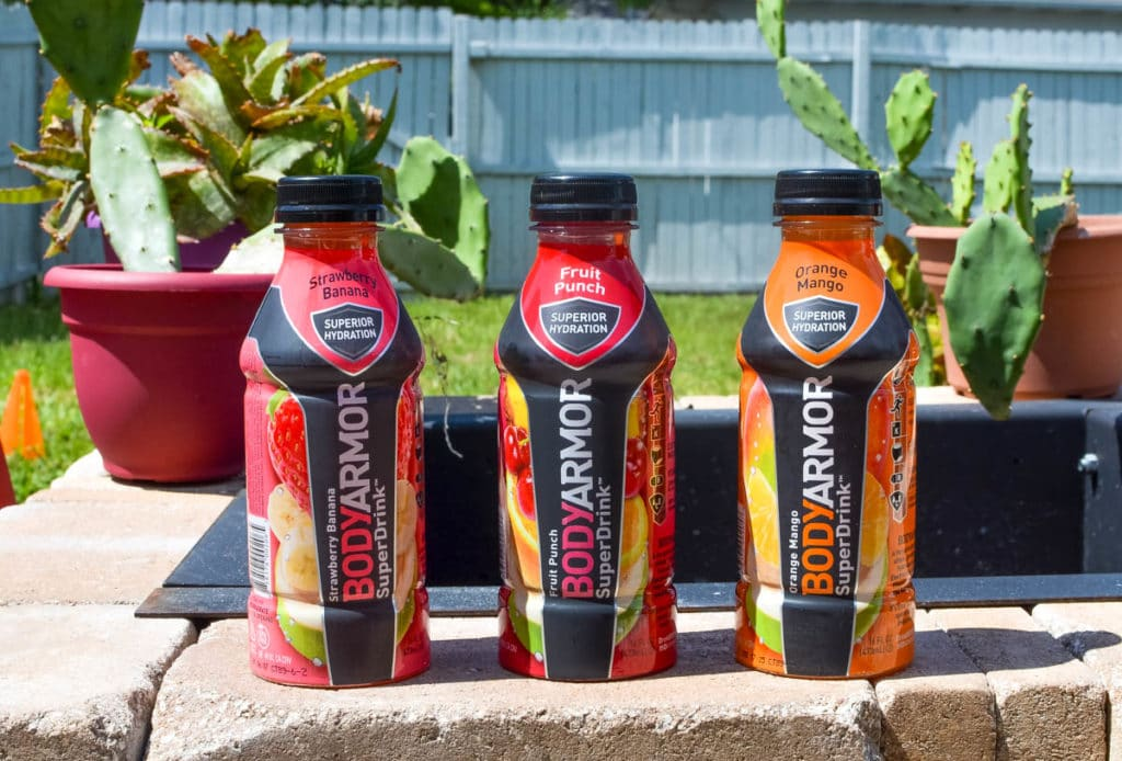 flavors of bodyarmor sam's club