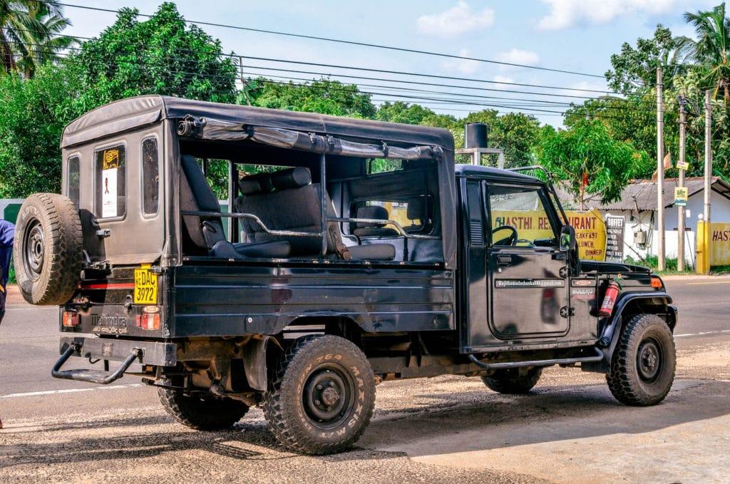 jeep Safari Minneriya National Park Sri Lanka