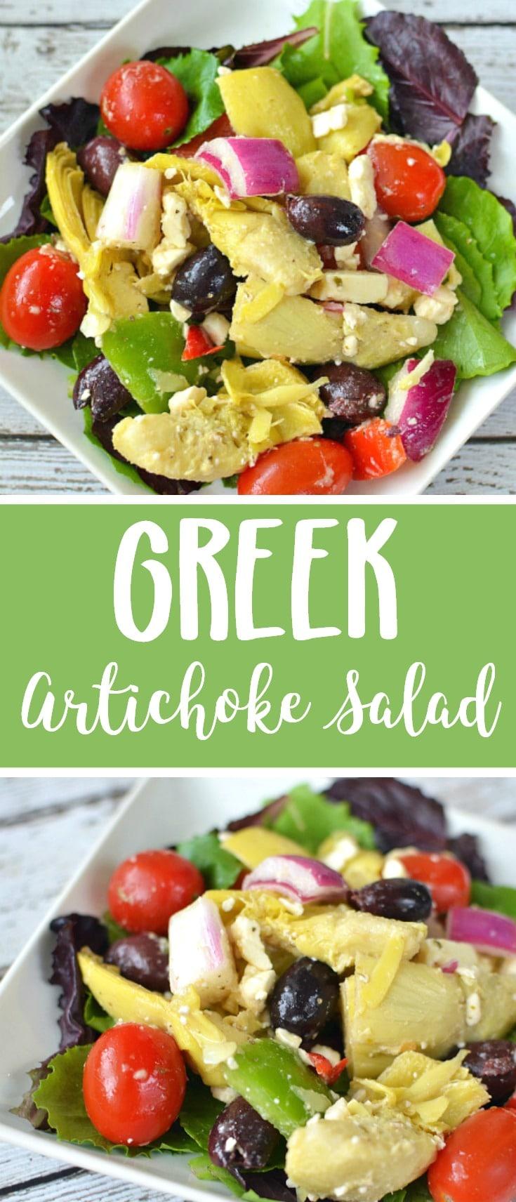 greek artichoke salad recipe