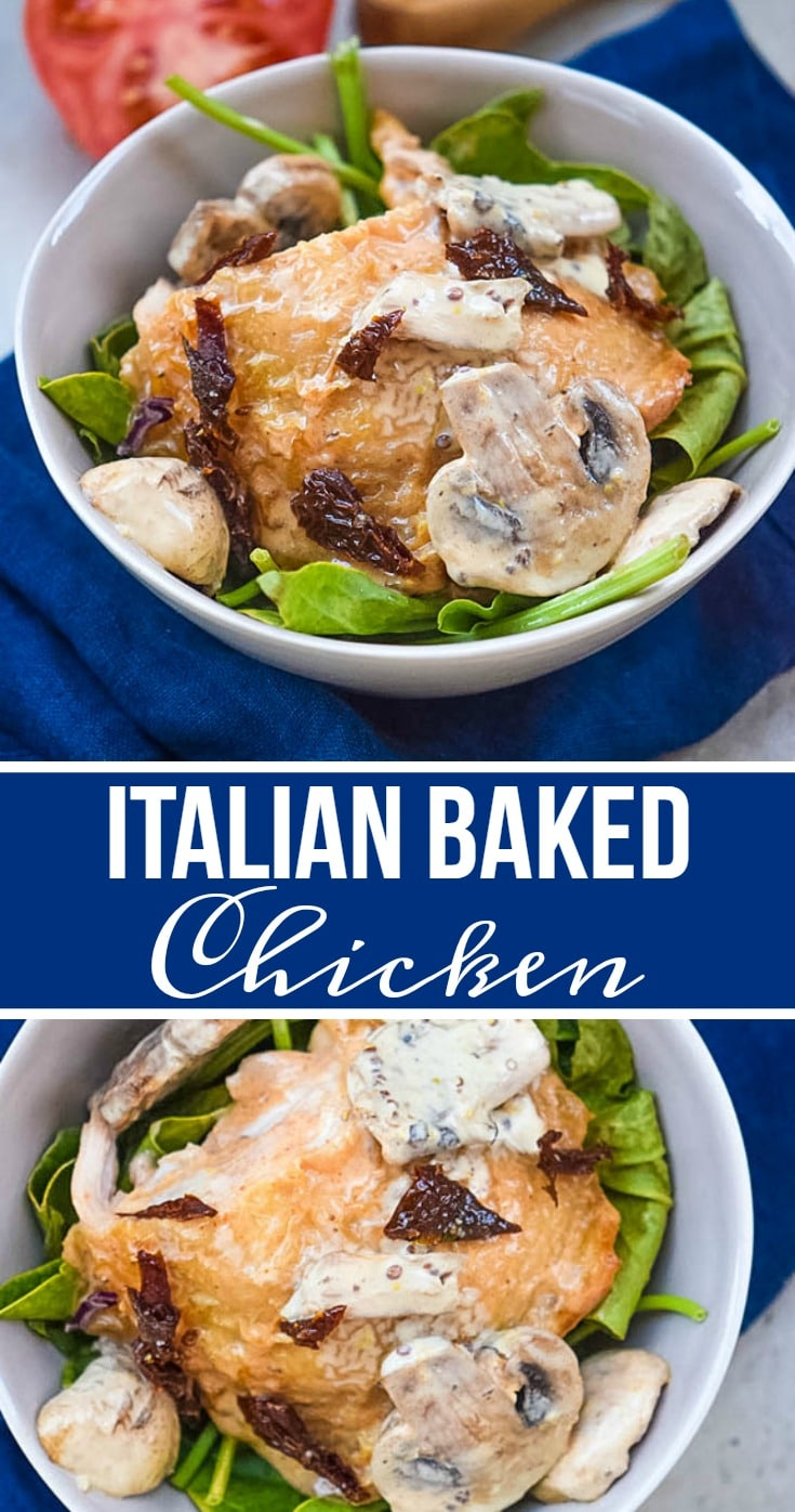 italian baked chicken recipe