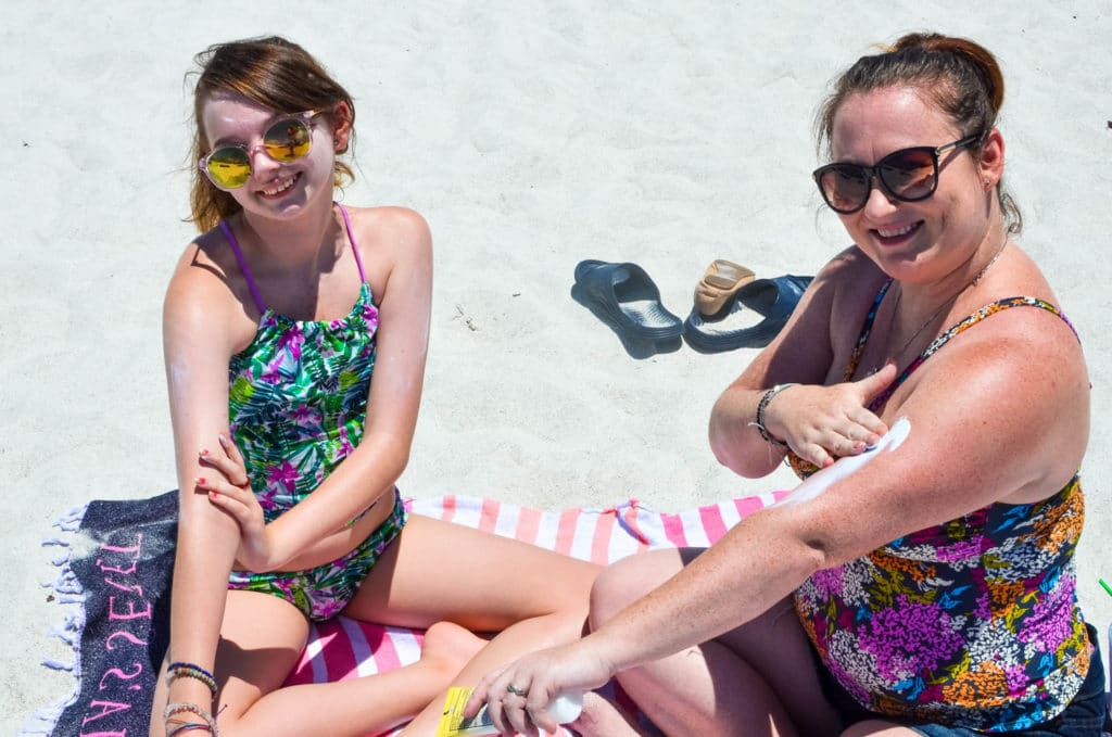Tips for Getting Your Child to Wear Sunscreen