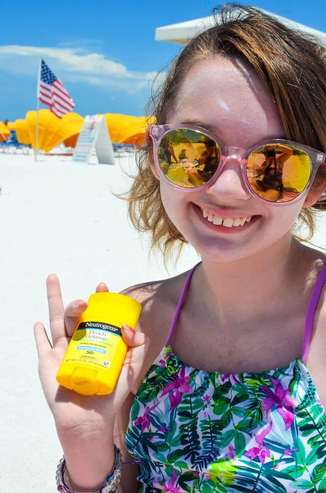 neutrogena sunscreen stick