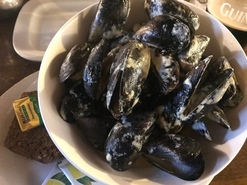 mussels donefal ireland