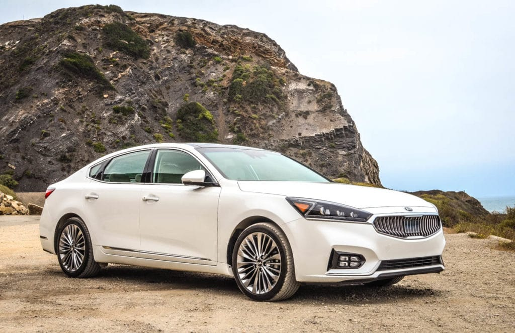 kia cadenza california road trip