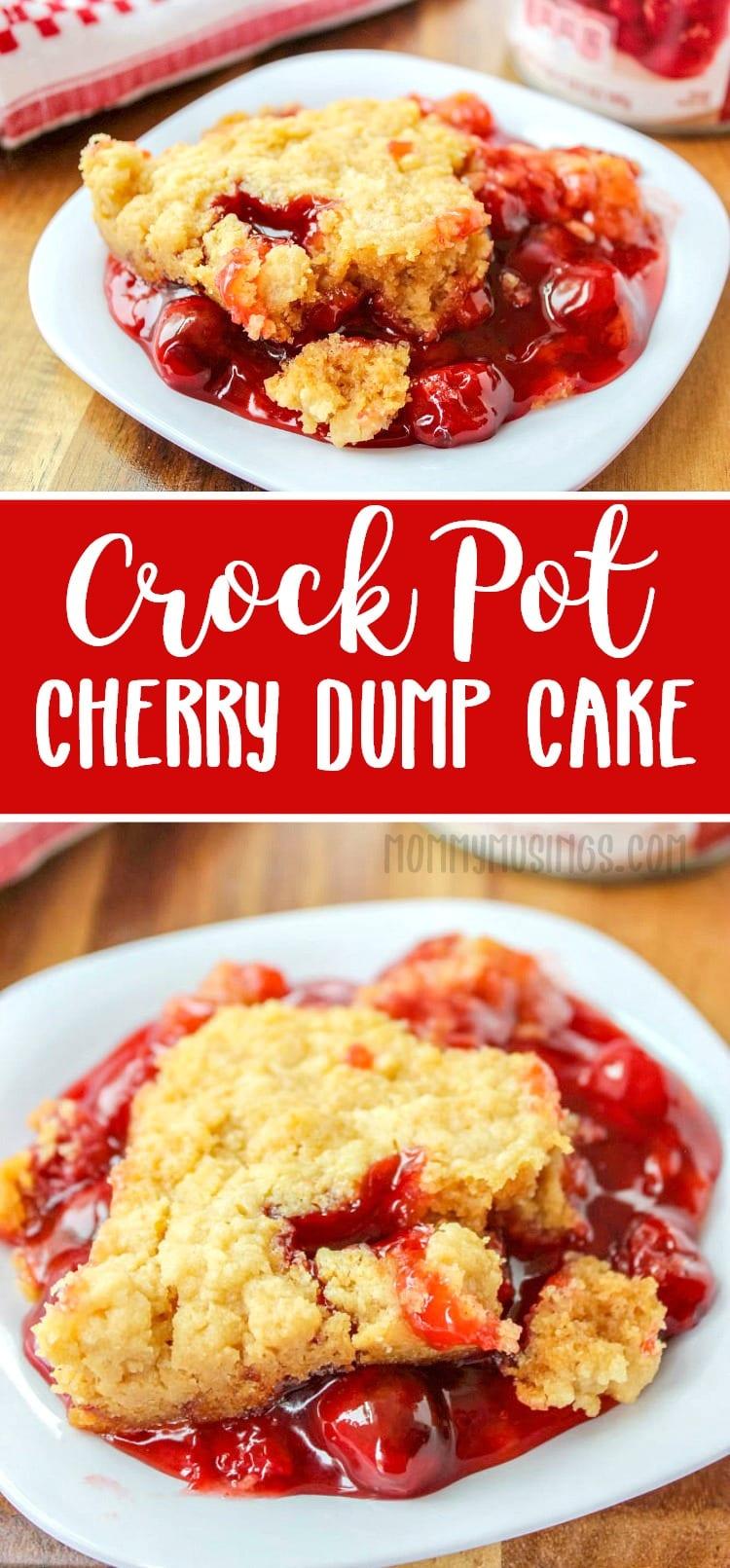 crock pot dump cake