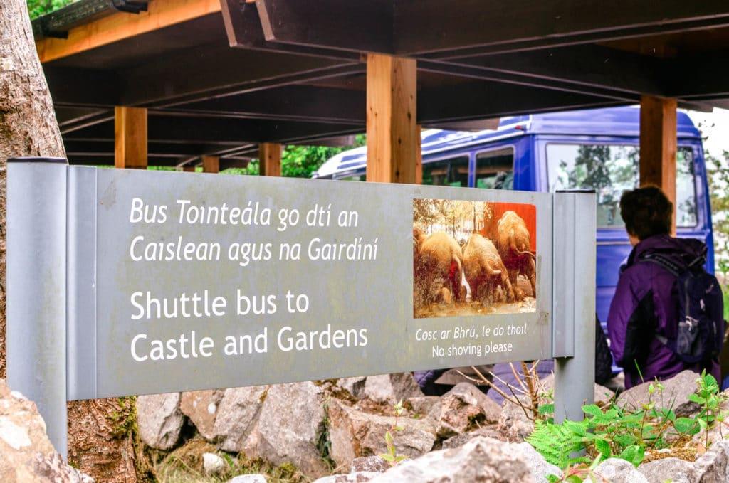 glenveagh national park shuttle