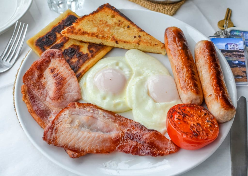 full irish breakfast malvern house portush