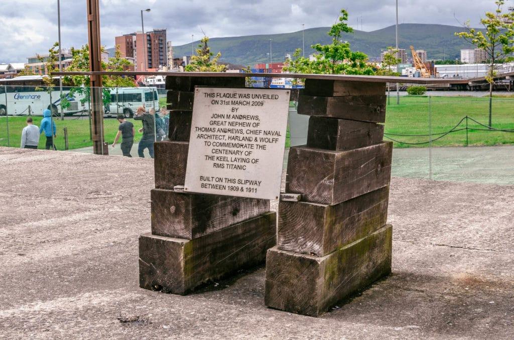 titanic memorial Belfast