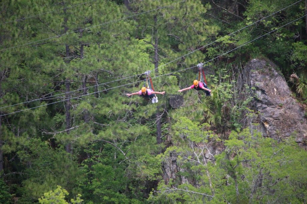 ziplining ocala