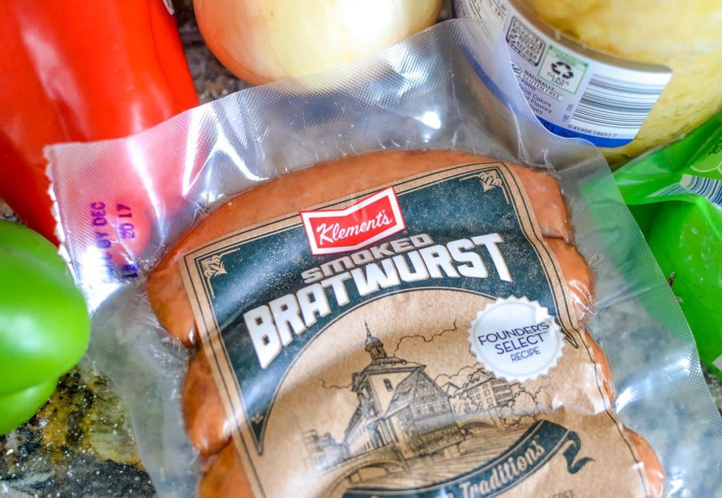 Bratwurst Pizza Recipe Oktoberfest Pizza
