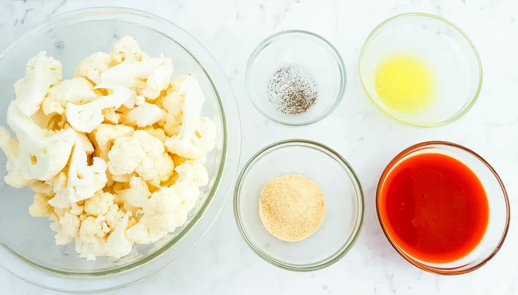 buffalo cauliflower bites ingredients